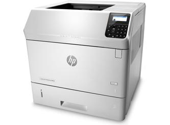 HP LJM604 black & white laser printer