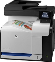 HP CM570DW multifunction printer
