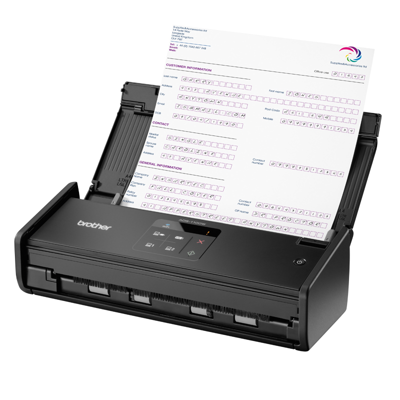 Brother ADS-1100w Scanner